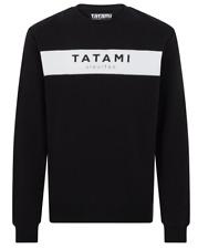 Tatami Originale Felpa Nero Ju Jitsu Maglione Top Bjj Abbigliamento Casual