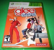 Karaoke Revolution Glee Volume 3 Xbox 360 *Factory Sealed! *Free Shipping!