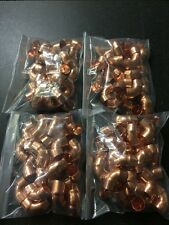 100 X 15MM END FEED ELBOW COPPER FITTING PACK OF 100