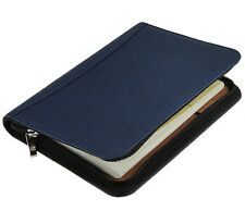Liying PU Leather Business Multi-function Zip-Around A5 Notebook Calendar Calc