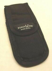 "Benchmade 981086f Small Soft Knife Sheath Griptilian White Logo (Fits 3"" Knife)"
