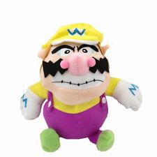 "Wario Super Mario Bros Plush Toy Stuffed Animal Soft Figure Doll 7"""