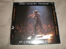 cd single jean jacques goldman et l' on n'y peut rien neuf sous blister
