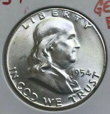 1954 Franklin Half Dollar - Bright Uncirculated