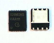 2 x N-CHAN MOSFET Transistor BSC026N02KS 100A 20V 2.5-5V Unidad de Puerta de nivel lógico