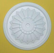 Ceiling Rose Polystyrene Easy Fit Lightweight Size 46cm 'CORNFLOWER'