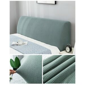 Soft Stretch Elastic Bed Headboard Cover Bed Head Slipcover Dust Protector S/L
