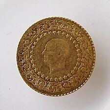 More details for turkey 25 kurush gold coin 1991