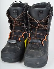 2016 MENS SALOMON SYNAPSE LACE SNOWBOARD BOOTS $290 9.5 Demo black orange