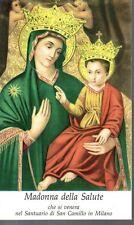 819/D Madonna della Salute    Santino Holycard