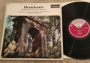 SMA 83 Bruckner Symphony no. 6 Joseph Keilberth EXCELLENT Telefunken  LP. S6