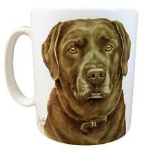 EN CAJA Labrador Chocolate Cachorro Hecho el RU Regalo Calidad Taza de cerámica