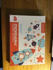 LITTLE CHIPIPI OUTER SPACE moveable wall stickers brand new