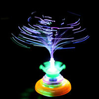UFO Laser LED Light Crown Music Gyro Peg-Top Spinner Spinning Kids Toy Gift_AU