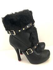 ❤️ LOVE MOSCHINO ❤️ Stiefeletten Schuhe Stiefel Ankle Boots Gr 40 wie Neu ❤️