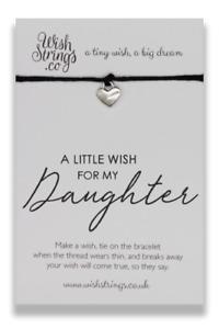 DAUGHTER - Wish String Wish Bracelet