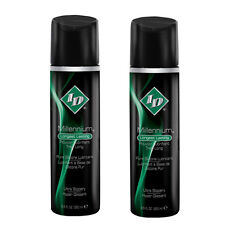 2 ID Millennium Silicone Based Personal Lubricant Massage Lube Body Glide  8.5oz