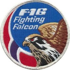 F-16 FIGHTING FALCON SWIRL PATCH NORWEGIAN AIR FORCE