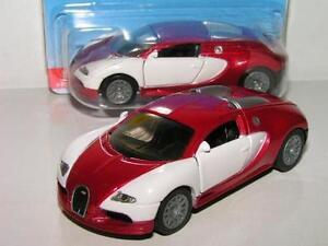 Siku Bugatti Veyron  White / Red 2 Tone (New & Sealed) 1:55 (Item # 1305)