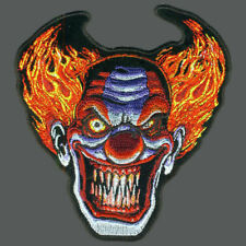 Angry Clown Skull Patch 5 inch PATCH