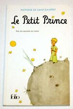 Saint-Exupery - LITTLE PETIT PRINCE - Collection Folio, illustrated France 2004