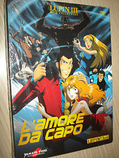 DVD LUPIN III THE 3rd  L'AMORE DA CAPO FILM COLLECTION SEALED NUOVO