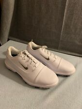 Nike Fitsole Air Zoom Victory Pro Mens Golf Shoes White Spikes Size 10