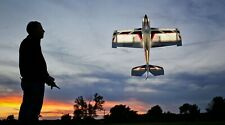 RC Plane NIGHT VisionAire 1.1m RARE BNF Basic with SAFE E-Flite Eflite Night Fly