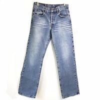 Lucky Brand Jeans 6 Lowrise Bootcut Womens Light Wash Button Fly Size 28