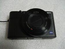 Very Nice Sony Cybershot DSC-RX100 20.2 MP Digital Camera - Black