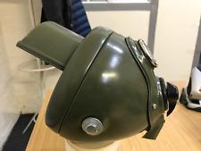 """Du42 6 1/2"""" Black out hood Headlight headlamp green bsa triumph norton ajs new"""