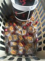 100 EMPTY Fireball  Whiskey 50ml Mini Plastic Liquor Bottles
