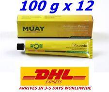 100 g x12 Namman Muay Thai Balm Boxing Cream Creme Analgesic Massage Pain Relief