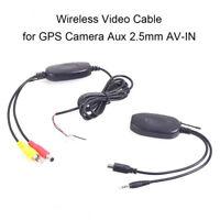 2.4G Wireless Video Transmitter Kit Car Reverse Rear View Backup Parking Camera