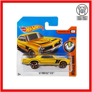 Pontiac GTO 1967 HW Muscle Mania 8/10 359/365 Diecast by Hot Wheels Mattel