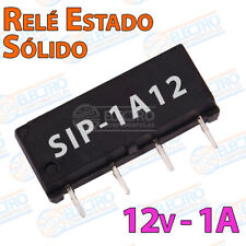 MINI Rele estado solido SIP-1A12 reed switch relay 12v 1A 4 pines SPST-NO