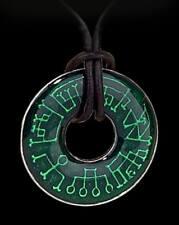 Angel Ring - Alchemy Gothic Halskette - Fantasy Schmuck Engel Medaillon