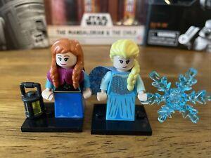 disney lego minifigures series 2 Elsa And Anna