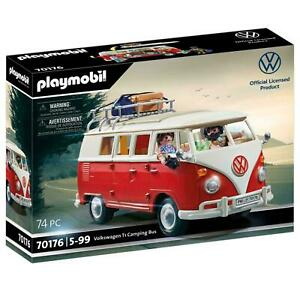 Playmobil 70176 Volkswagen T1 Camping Bus Camper Motorhome Toy Model VW Official