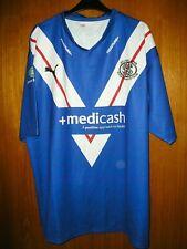 St. Helens Rugby League Jersey Shirt Puma size XXL 46/48 Blue away shirt