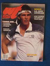 World Tennis Magazine - October 1984 - Pat Cash Cover