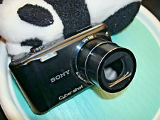 Sony Cyber-Shot DSC-H55 G Black Dgital Camera 14.1MP