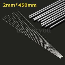 10pcs 2mm Aluminium Low Temperature Welding Brazing Rod For all AL Parts 45cm