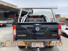Polished Silver ALLOY Ladder Rack fit  Nissan Navara D23 NP300 TUB 2015 -2019