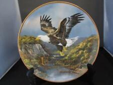"Royal Doulton 8"" Eagle Collectors Plate ~Under His Wings ~Franklin Mint ~ New"