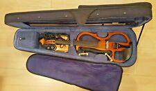 Cecilio Silent Electric Violin HVPV-30 with Case and Bow