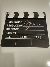 Gus Van Sant signed in person clap board clapper Good Will Hunting director