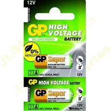 4x GP A23 12V Alkanline Batteries MN21 23A LRV08 K23A E23 Door Bell Chime