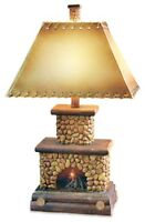 Vintage Direct CL3403 26 in. Stone Fireplace Table Lamp