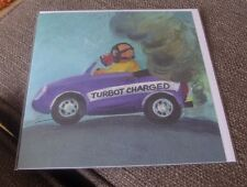 TURBOT CHARGED  GERRY PLUMB  MILKWOOD WHISTLEFISH NEW BEACH GREETING CARD BLANK